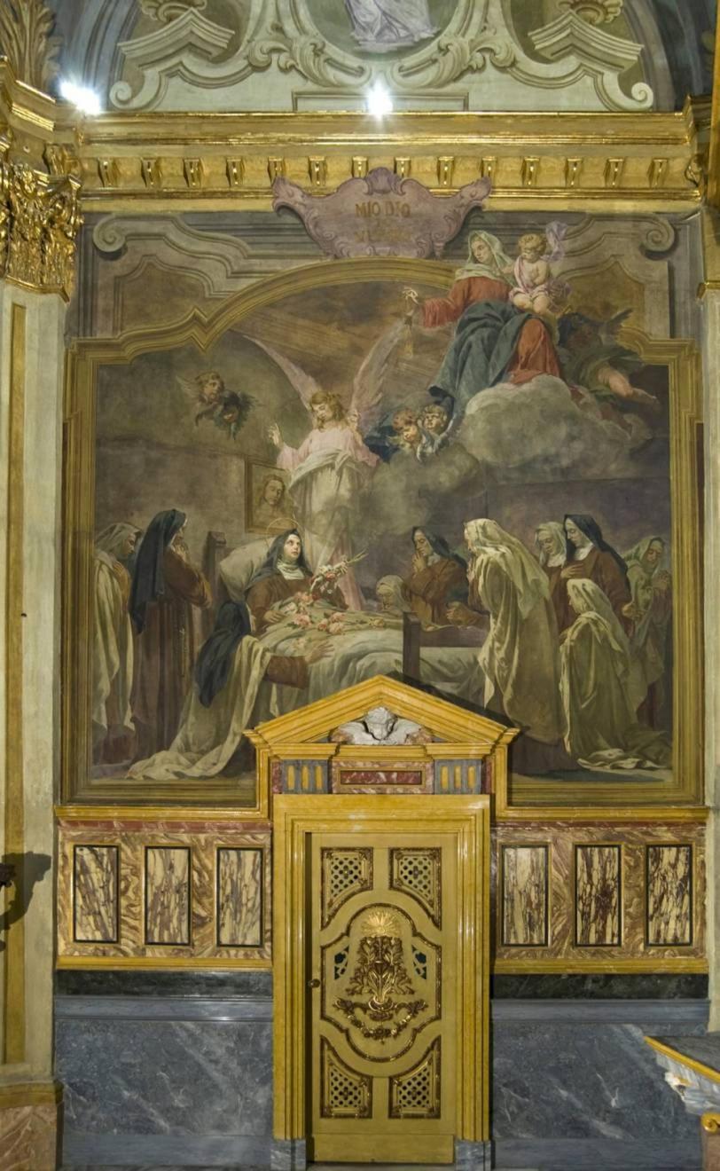 Restauro chiesa S. Teresa a Torino