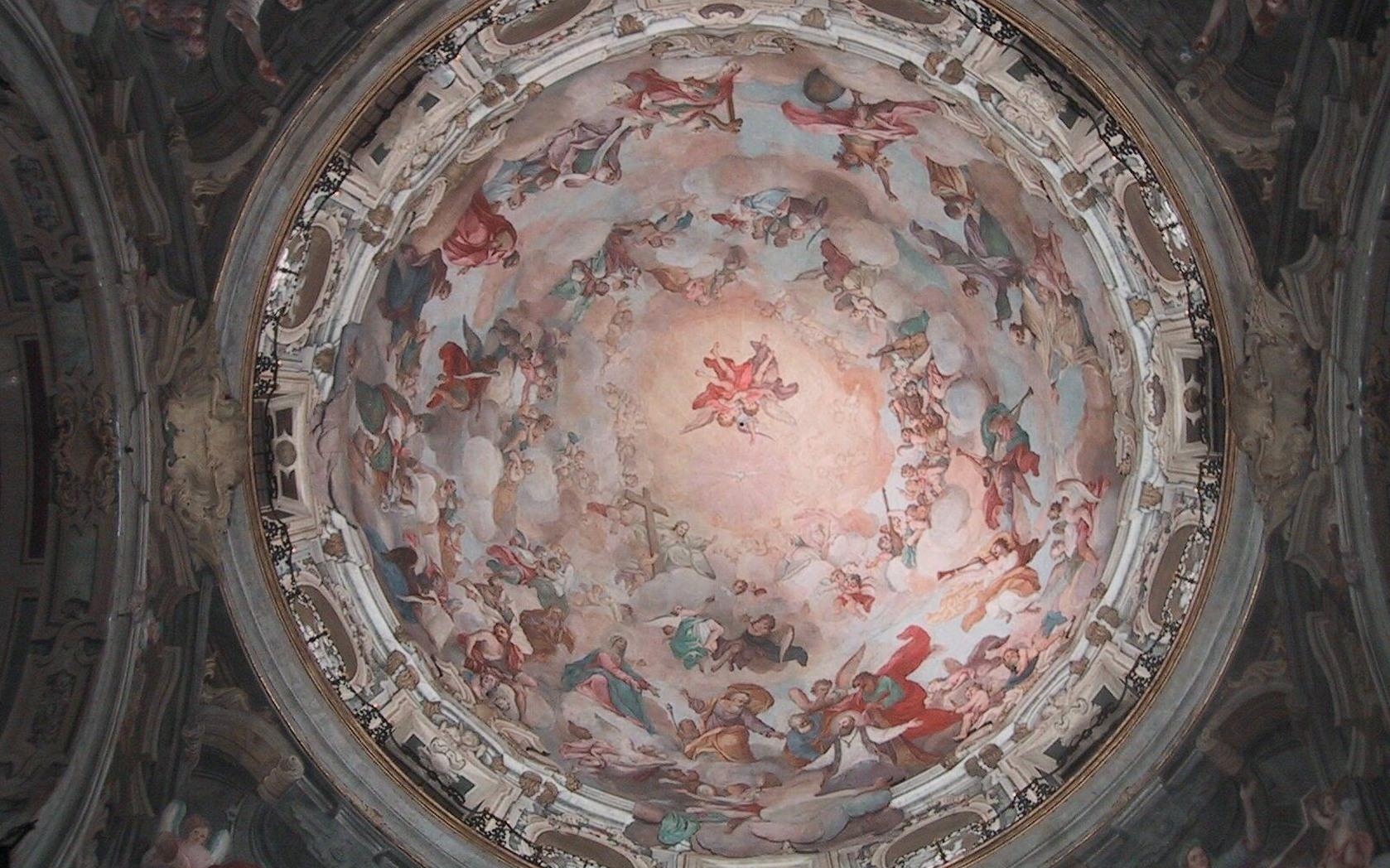 Restauro chiesa della Visitazione a Torino