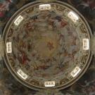 Restauro chiesa della Visitazione a Torino - vista interna della cupola