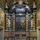 Restauro chiesa S. Teresa a Torino -  cappella di san Giovanni dopo l'intervento di restauro