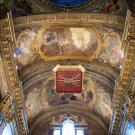 Restauro chiesa S. Teresa a Torino - volta dopo il restauro