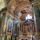 Restauro chiesa S. Teresa a Torino - presbiterio dopo il restauro