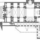 Restauro chiesa S. Teresa a Torino - planimetria