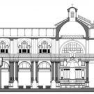 Restauro chiesa S. Teresa a Torino - sezione