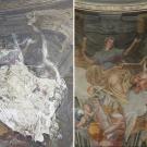 Restauro chiesa della Visitazione a Torino - prima e dopo