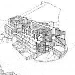 PEC nuovo insediamento turistico residenziale ad Artesina - prospettiva di progetto