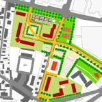 Insediamento residenziale Rn1 - planimetria di progetto