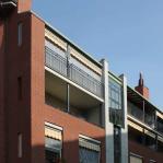 Architettura residenziale: edificio in via Principe Amedeo a Beinasco